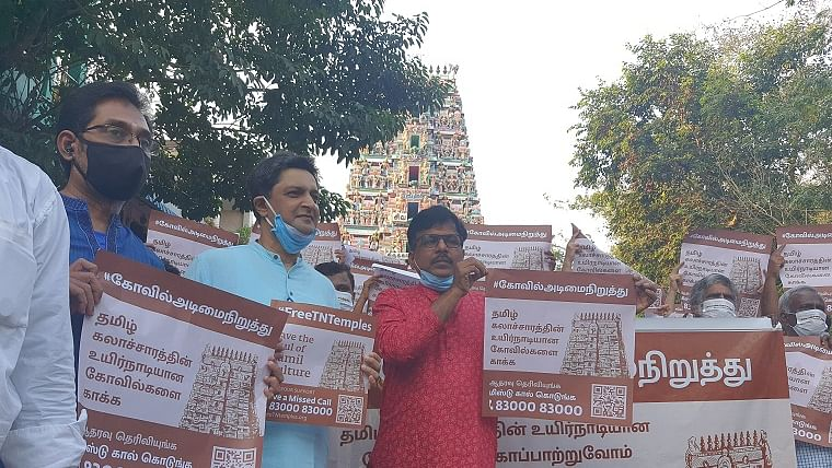 Sadhguru's #FreeTNTemples campaign: thousands converge on temples across Tamil Nadu in support