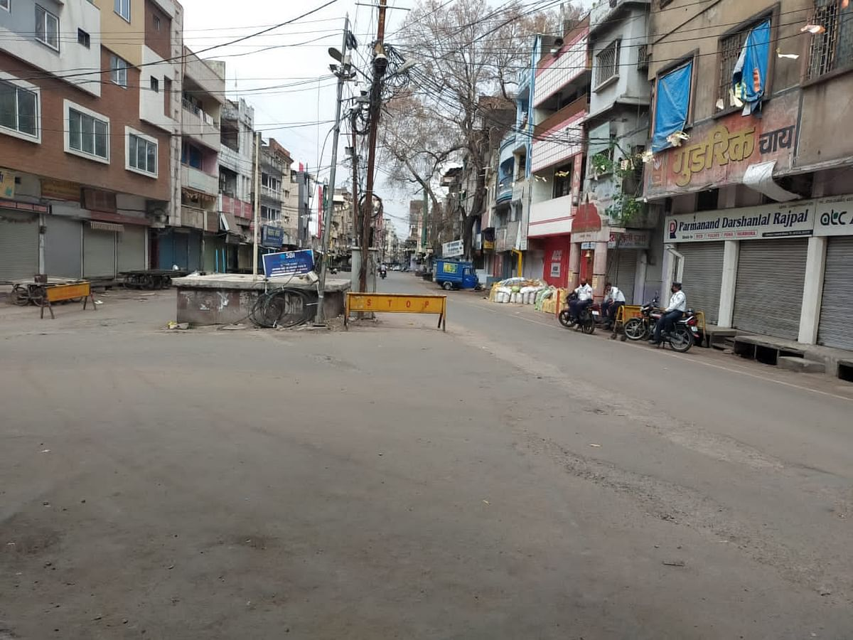 Bhopal: Streets empty, total lockdown in Madhya Pradesh capital