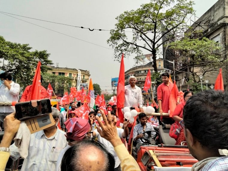 West Bengal Assembly polls: Five CPI (M) leaders hold roadshows to file nominations