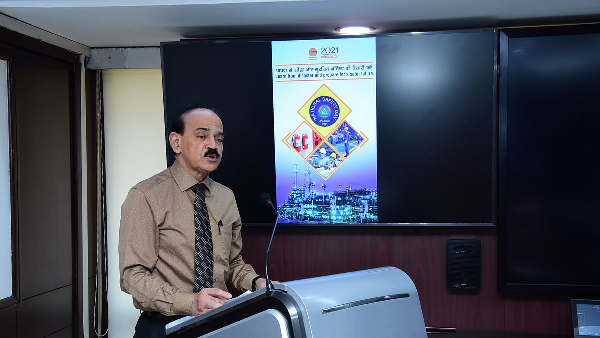 IndianOil's Refineries Division celebrates National Safety Day – 2021