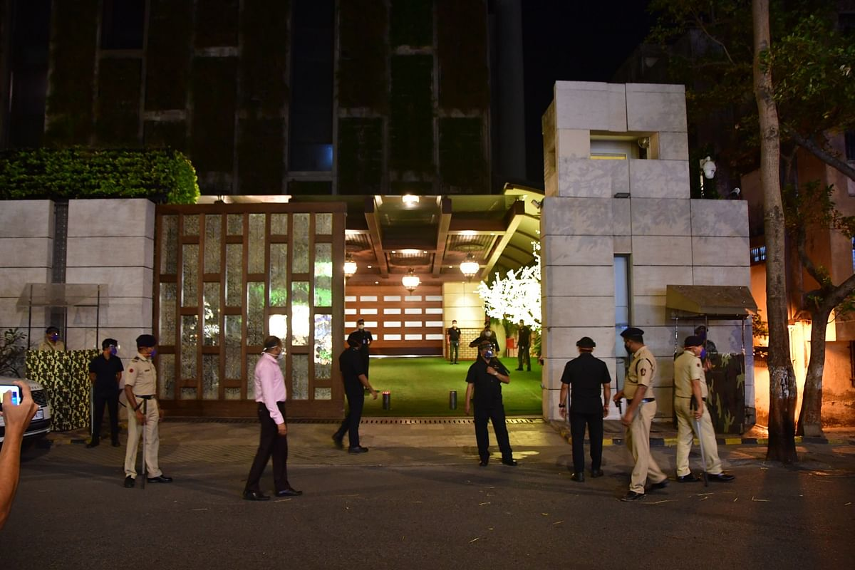 Antilia bomb scare: MVA, BJP spar over NIA probe