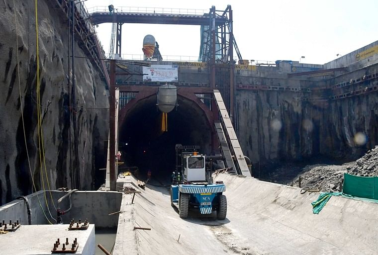 In pictures: BMC completes 100 metres of tunneling for the Mumbai Coastal Road Project