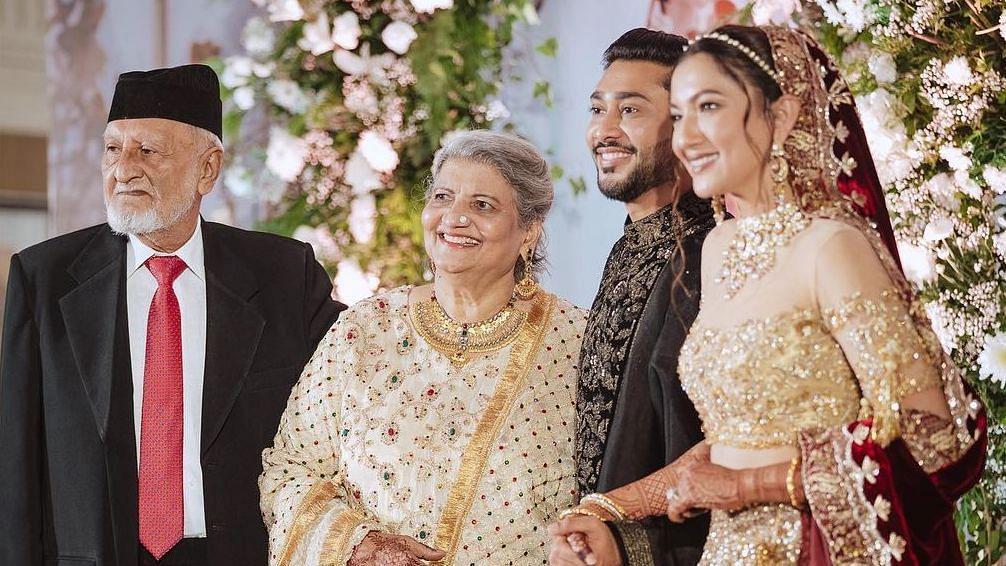 Gauahar Khan's father passes away; actress shares heartfelt post on Instagram