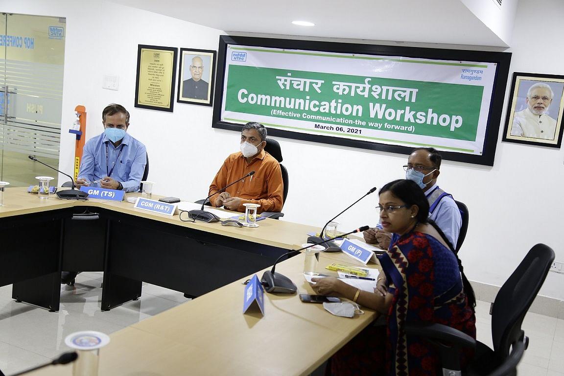 NTPC-Ramagundam employees to focus on effective communication