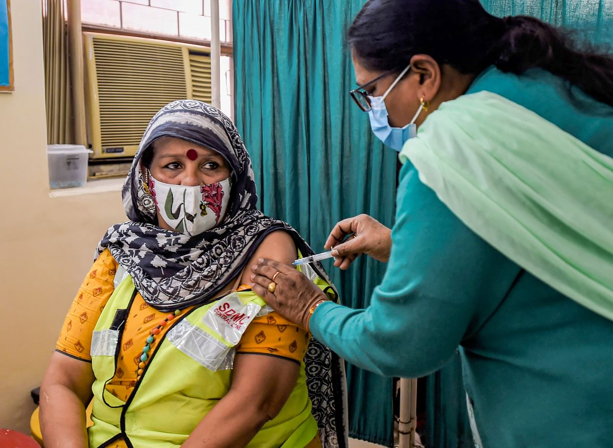 The countrywide COVID-19 vaccination drive was rolled out on January 16 with healthcare workers (HCWs) getting inoculated first.