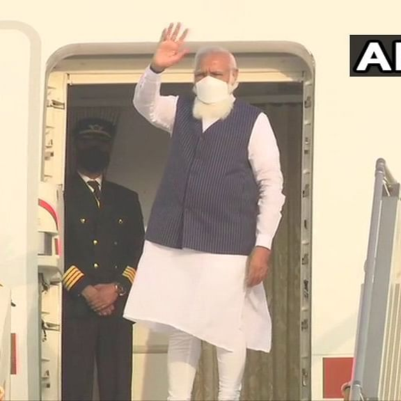 'Happy that this is my 1st foreign visit after COVID onset': PM Modi leaves for Bangladesh on two-day visit
