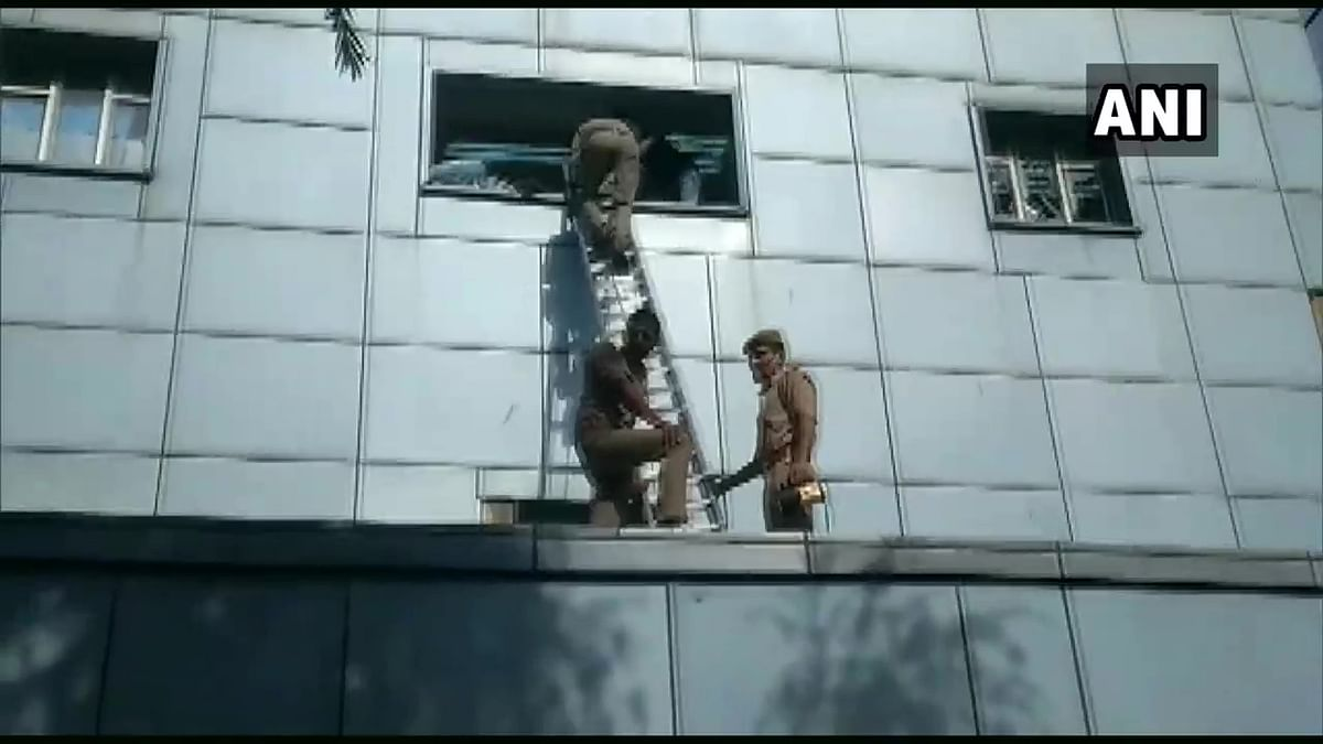 Two patients die in Kanpur cardiology hospital fire, CM orders probe taking this mail