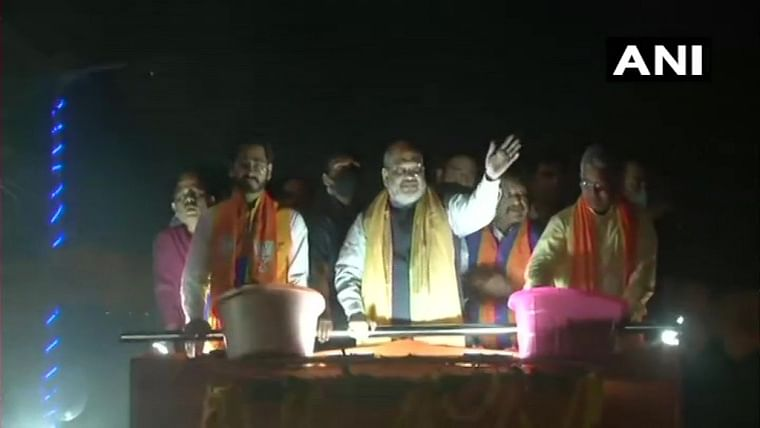 West Bengal Assembly polls: Amit Shah holds colourful roadshow in Kharagpur