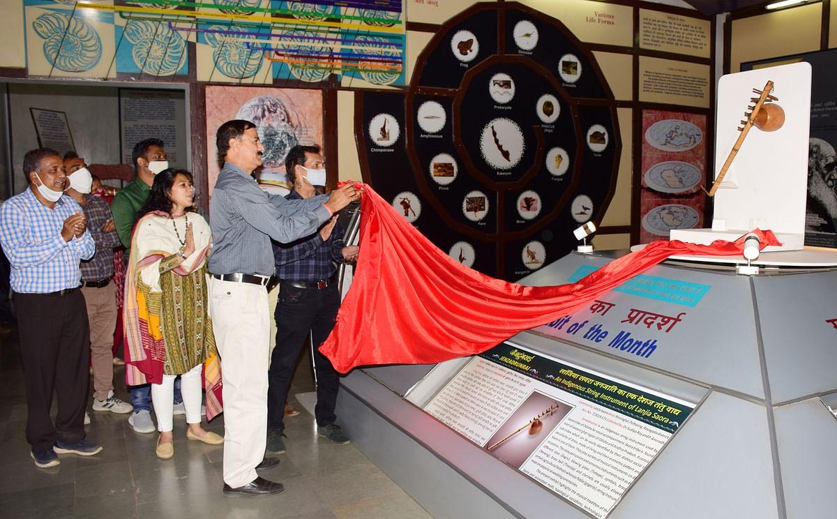 Jenzadrunrai on display at Indira Gandhi Rashtriya Manav Sangrahalaya, Bhopal