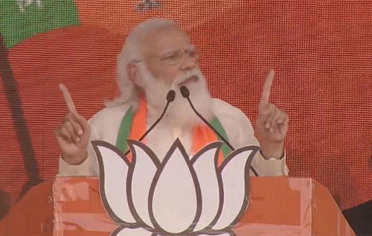 Bengali is in the DNA of BJP: PM Narendra Modi