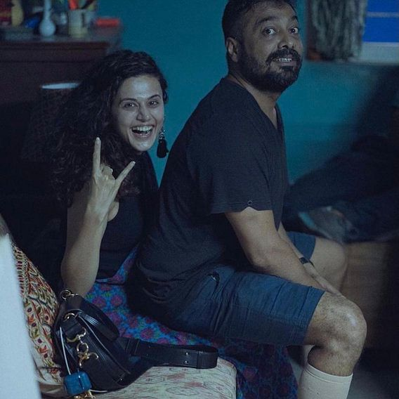 'Too much democracy': Twitter reacts to I-T raids on Anurag Kashyap, Taapsee Pannu and Vikas Bahl's Mumbai properties