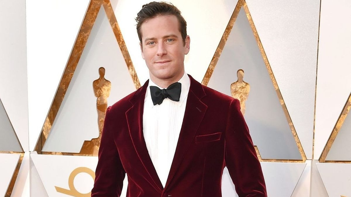 In the wake of rape allegation, Armie Hammer dropped from 'The Billion Dollar Spy'