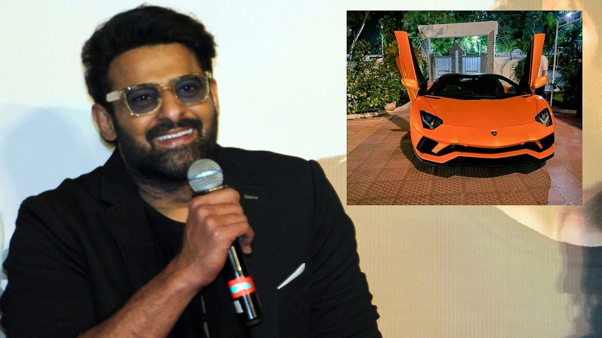 Prabhas buys a swanky new Lamborghini worth Rs 5.79 crore