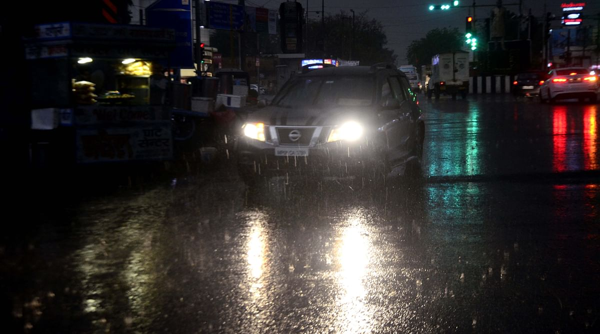 Bhopal experiences brief spell of moderate rain on Thursday evening
