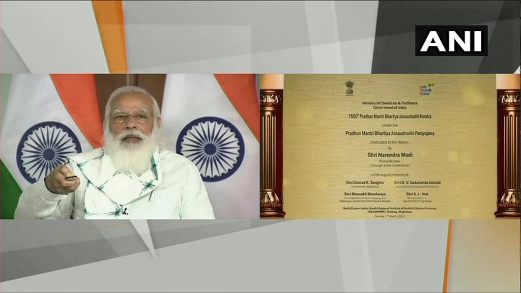 Buy medicines at affordable price from 'Modi ki Dukaan': PM on inauguration of 7500th Janaushadhi Kendra