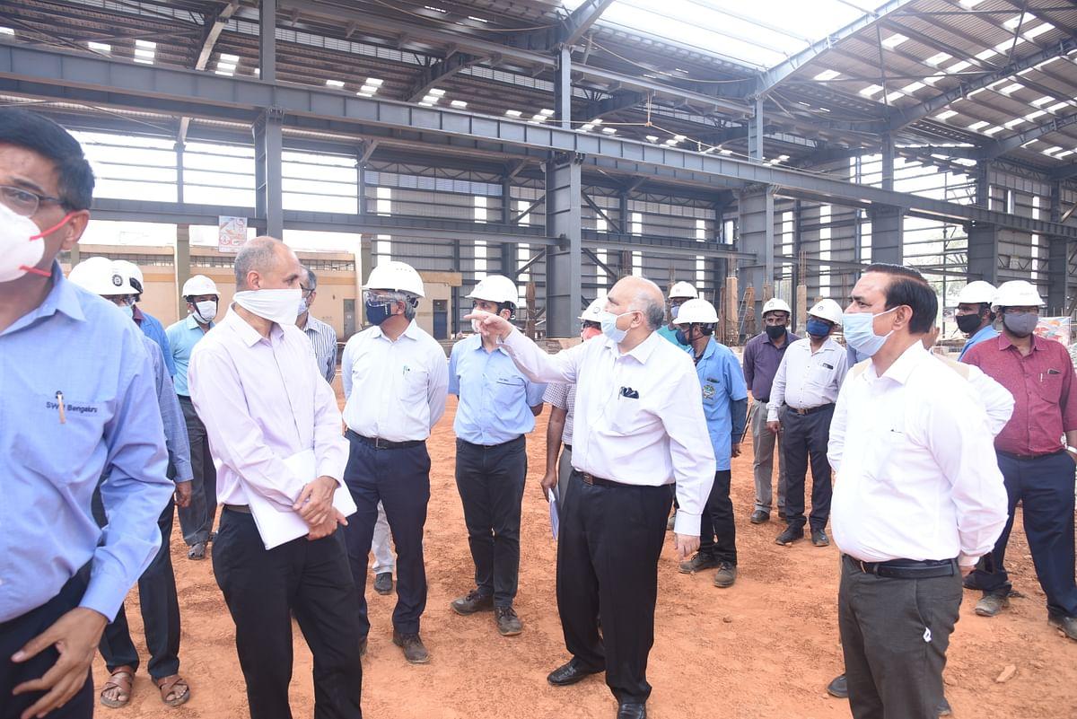 Suneet Sharma, Chairman & CEO Railway Board visits RWF
