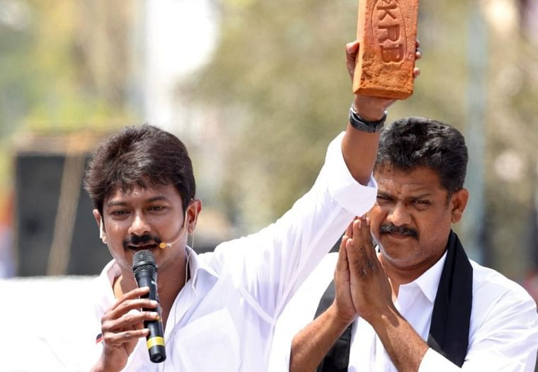 Tamil Nadu: Police complaint filed against Udhayanidhi ​Stalin for 'stealing brick' from AIIMS Madurai campus