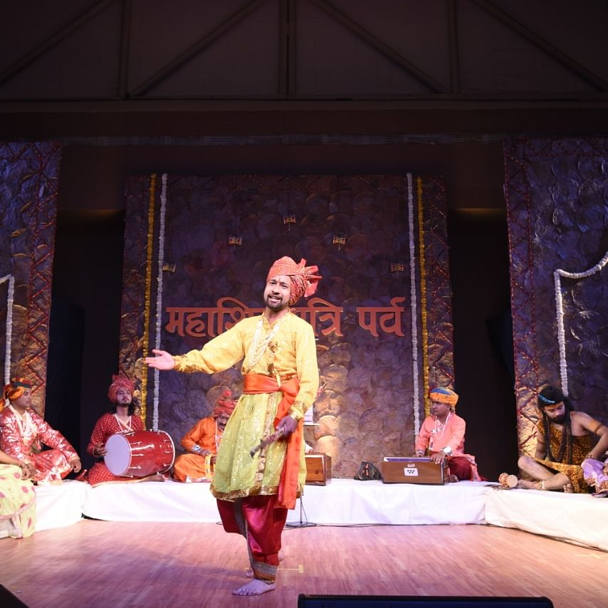 Ujjain: Folk dance drama staged at Triveni Museum