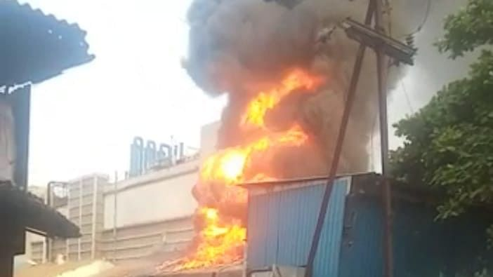 Navi Mumbai: Major fire breaks out in Rabale MIDC