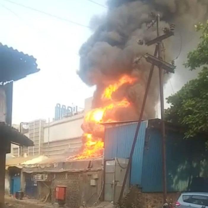 Navi Mumbai: Major fire breaks out in Rabale MIDC