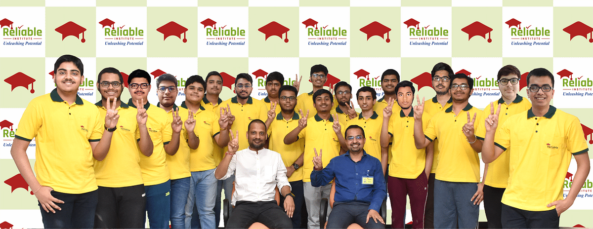 134 students of Reliable Institute score above 99% in JEE Main 2021