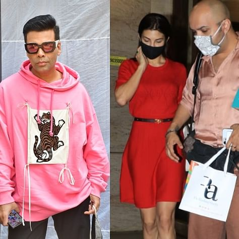 Celebrity Spotting: Kangana Ranaut, Jacqueline Fernandez, Karan Johar and others step out in Mumbai