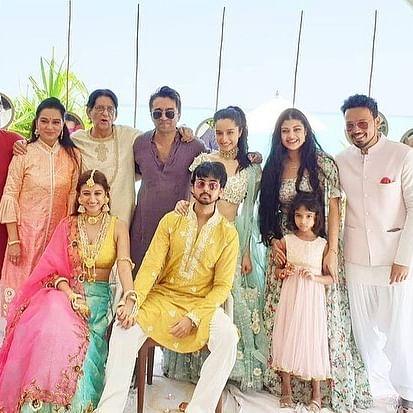 In Pics: Shraddha Kapoor attends  cousin Priyaank Sharma's Maldives wedding with rumoured beau Rohan Shrestha