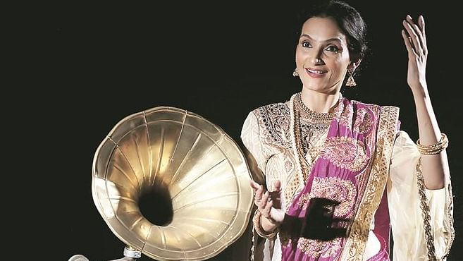 'I am okay with every art form as long as I am getting paid,' says 'Gauhar Jaan' actor Rajeshwari Sachdev