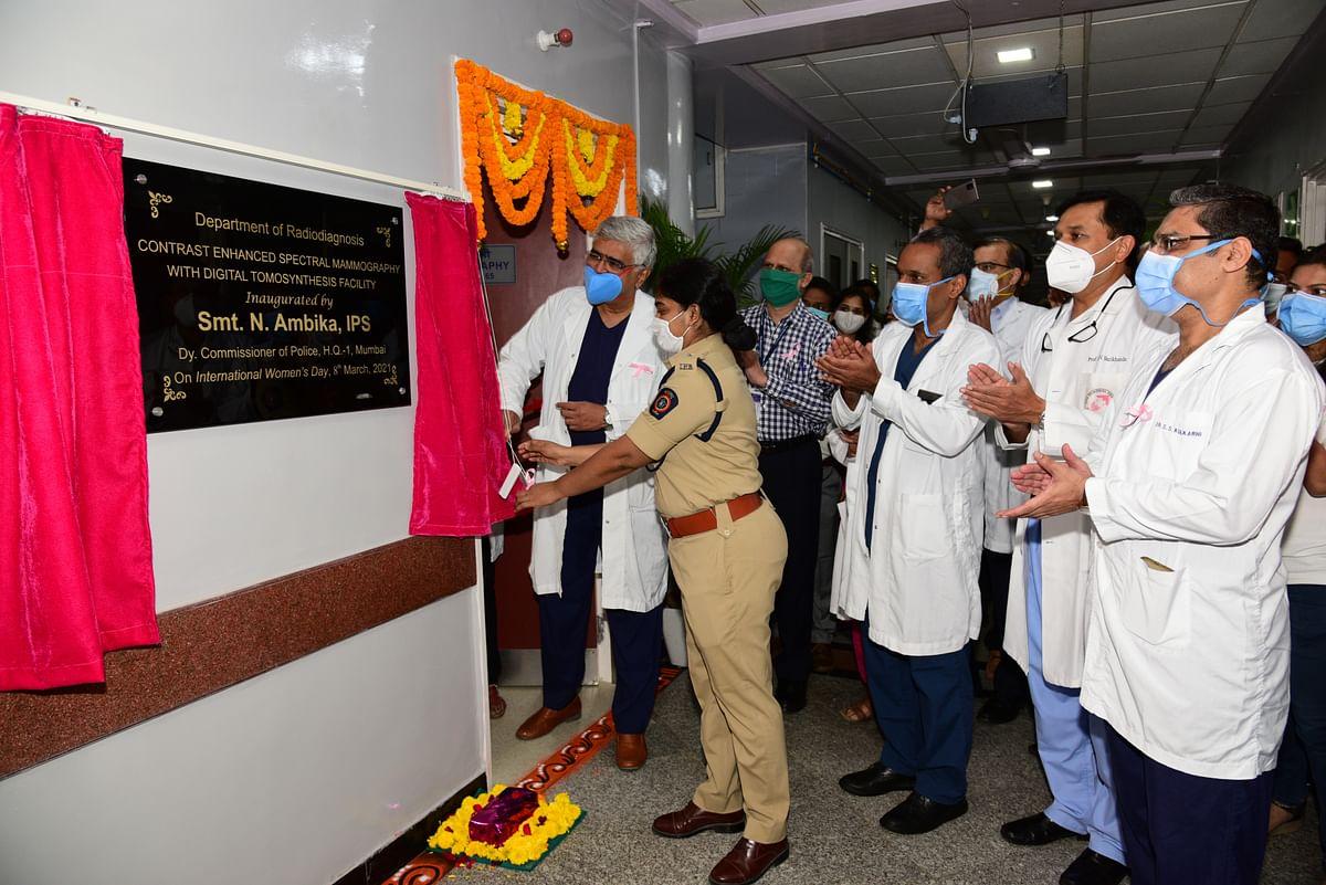 State of the Art Digital Mammography Facility inaugurated at Tata Memorial Centre, Mumbai
