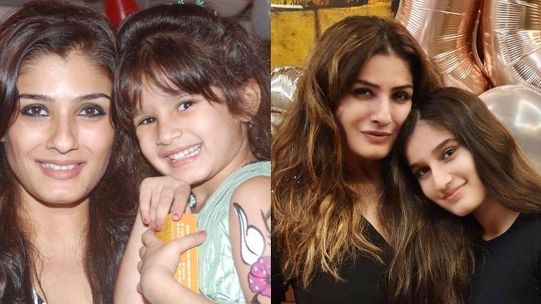 Raveena Tandon shares unseen pics with daughter Rasha on 16th birthday
