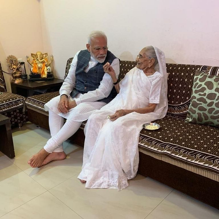 'Happy to share': PM Modi's mother receives first dose of COVID-19 vaccine