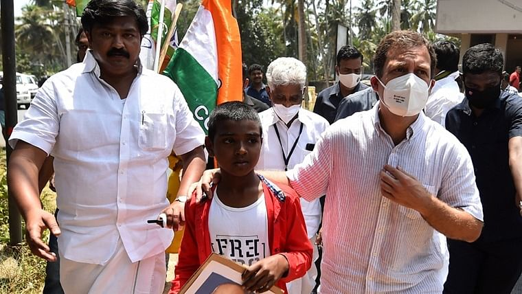 Tamil Nadu: Keeping his word, Rahul Gandhi gifts 12-year-old Kanyakumari boy pair of sports shoes