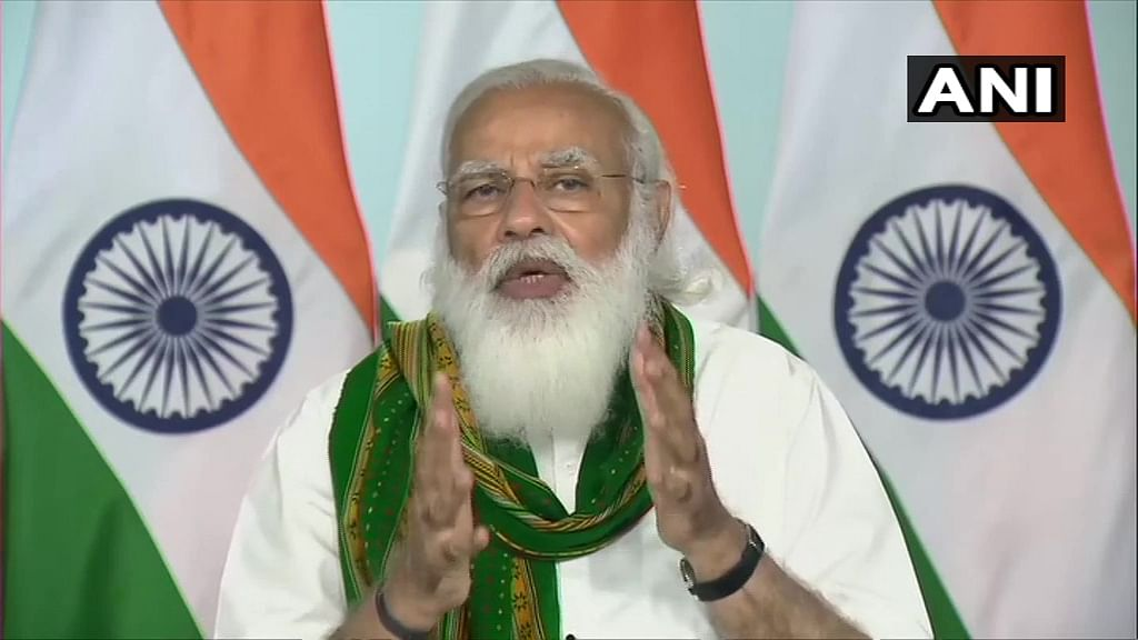 Amid protests, PM Modi says govt working for small and medium-level farmers