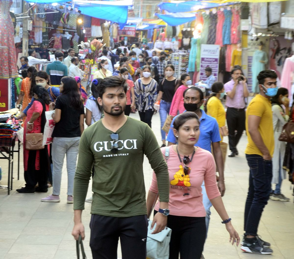 Fewer mask challans even as Covid cases spike in Bhopal