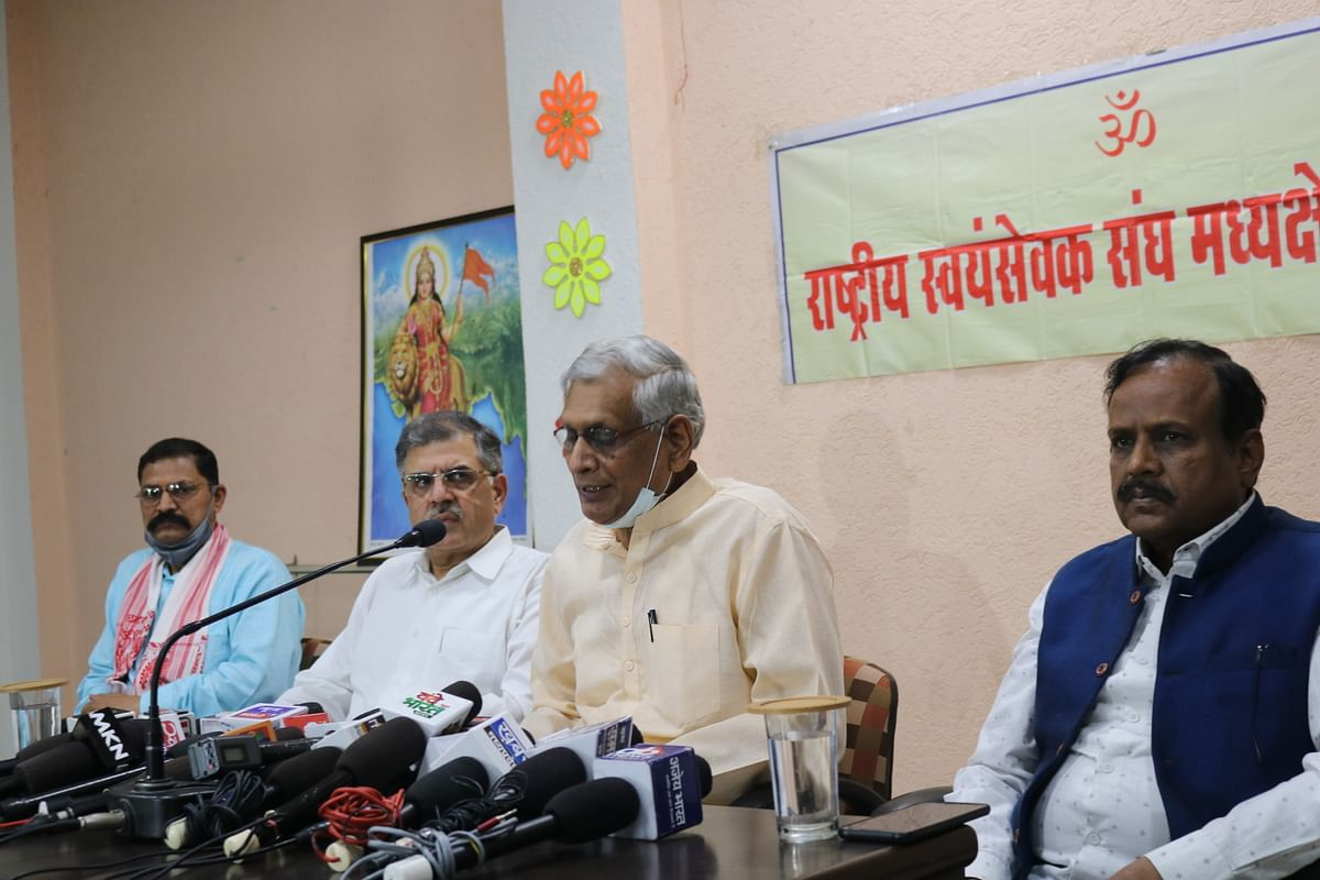 90 pc of RSS Shakhas have resumed functioning:Prant Sangh Sanchalak Ashok Pandey