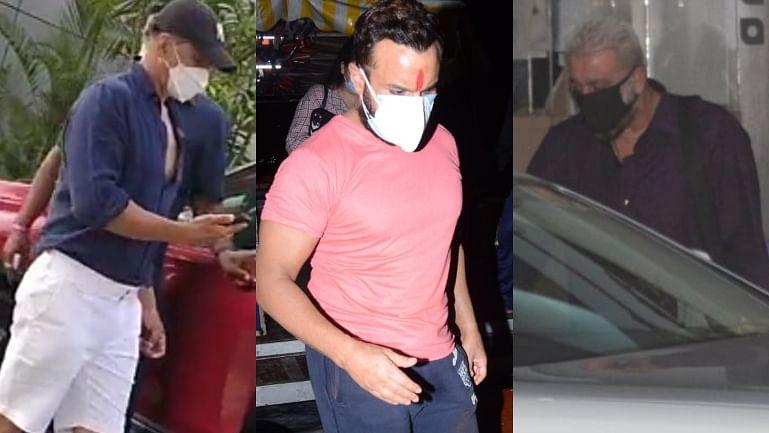 Celebrity Spotting: Akshay Kumar, Saif Ali Khan, Sanjay Dutt and others captured by paps in Mumbai