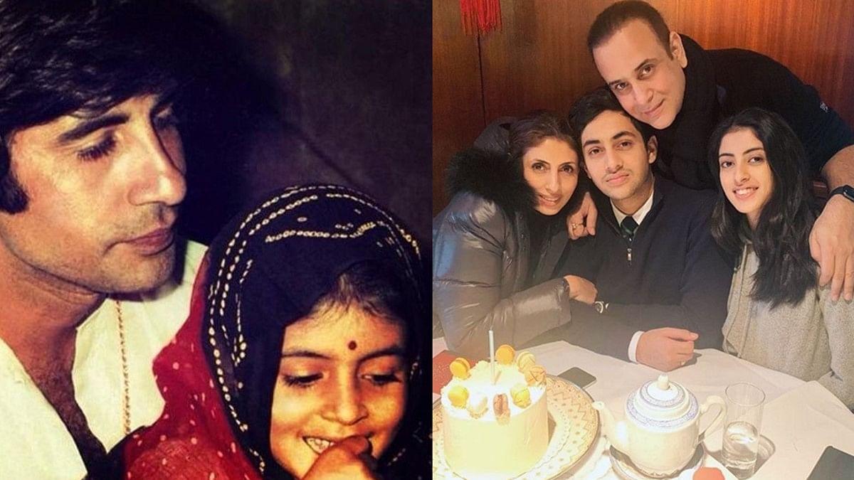 Amitabh, Abhishek, Navya Naveli share heartfelt birthday wishes for Shweta Bachchan