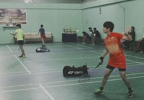 Badminton match in Indore on Saturday
