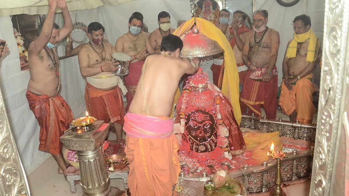 Ujjain: Universe's first Holika Dahan held in Mahakal's courtyard