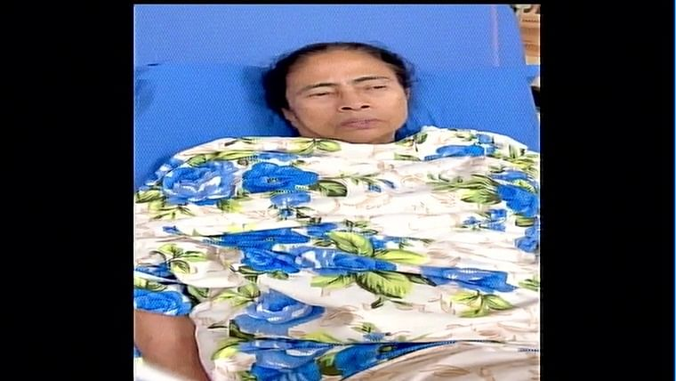 'Please maintain peace': West Bengal CM Mamata Banerjee appeals in a video message from hospital