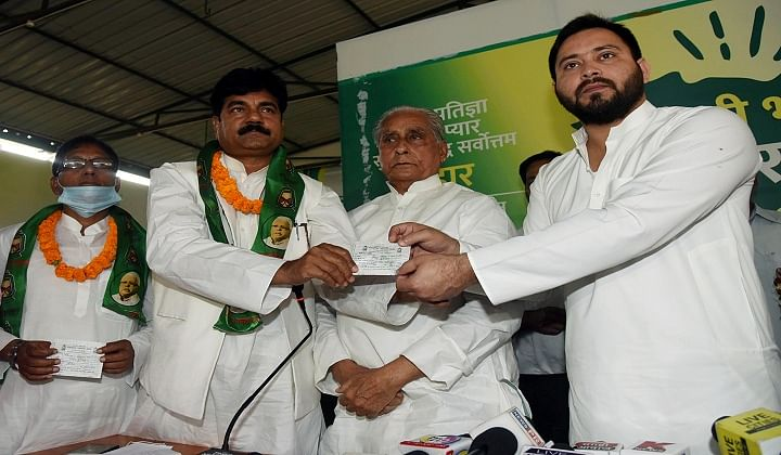 RLSP netas join RJD, as faction decides to merge with JDU