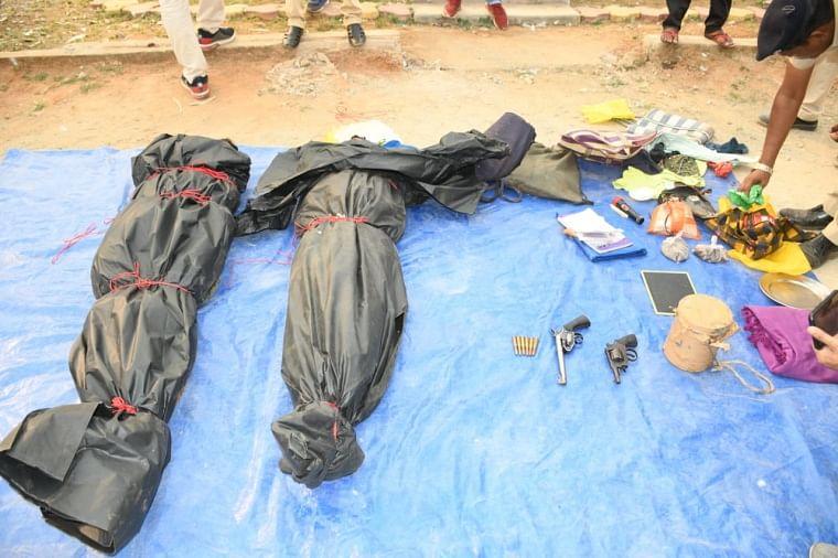 Chhattisgarh: Two wanted Naxals carrying reward of Rs 4 lakh killed in Dantewada