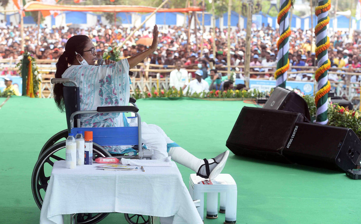 West Bengal Assembly polls: Mamata Banerjee fires fresh salvo at PM Modi, calls BJP leaders 'monsters, demons'