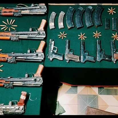 Indian army recovers huge cache of arms, ammunition seized in Jammu and Kashmir's Kupwara district