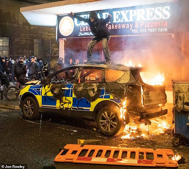 UK police come under attack as Kill the Bill protest turns violent in Bristol