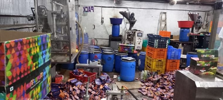 Mumbai: Factory of tobacco hukka busted in Sewri, flavours of worth Rs 17 lakh seized