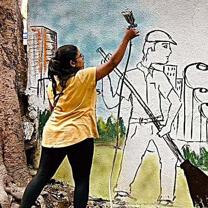 Colourful endeavour: These artists are transforming Mumbai streets with their art and winning hearts