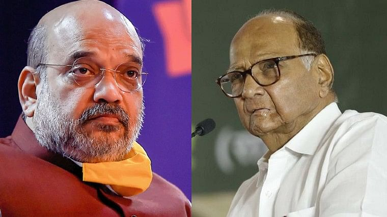 Mumbai: Congress downplays news on  Sharad Pawar and Amit Shah meet