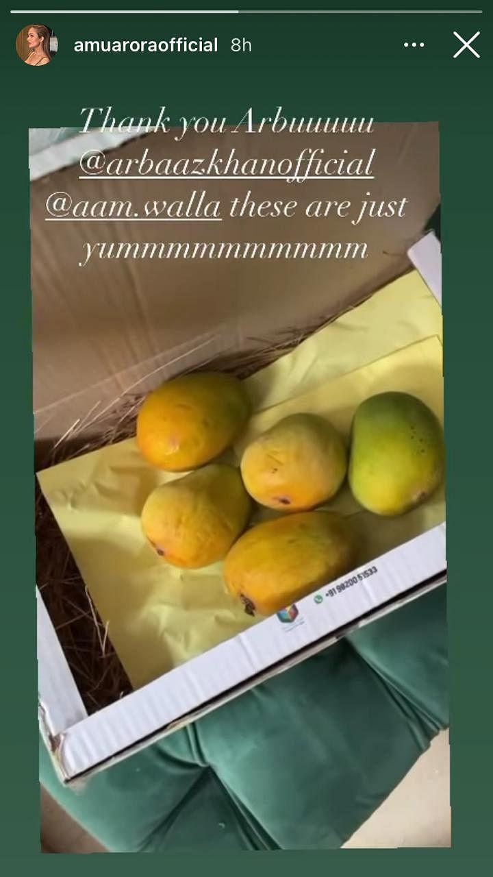 Arbaaz Khan sends ex-wife Malaika Arora box of 'freshest' mangoes