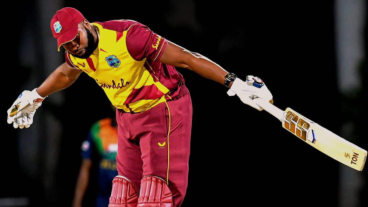After Yuvraj Singh and Herschelle Gibbs, Kieron Pollard becomes third batsman to hit six 6s in an over